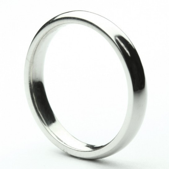 Classical 3mm Half Rounded Wedding Band