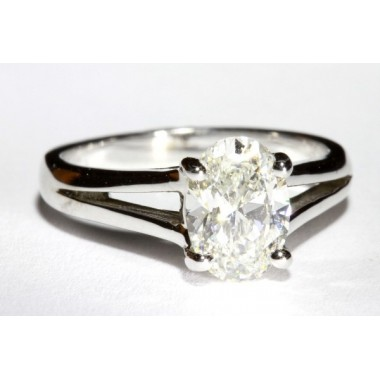 Split Shank Lucida Trellis Solitaire Engagement Ring