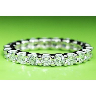 "Kobe Mark 2.00 ctw ""U"" Prong Eternity Diamond Wedding Band"
