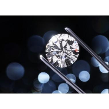 2.32 Carat K VS1 Round GIA XXX Ideal Natural Diamond