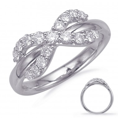 1/2 Carat Fashion Diamond Love Knot Ring
