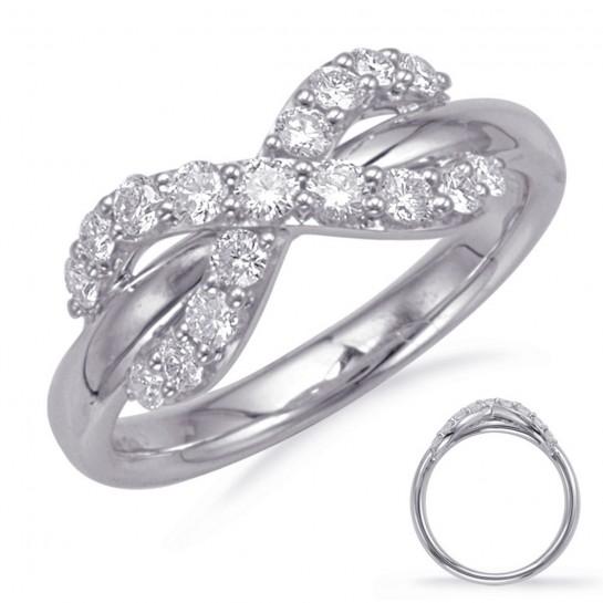 1/2 Carat Fashion Diamond Love Knot Ring