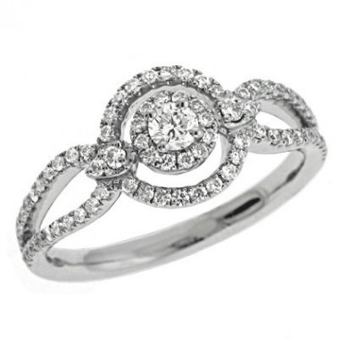 .50 ctw. RIGHT HAND RING Round DIAMONDS
